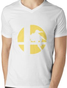 Link - Super Smash Bros. Mens V-Neck T-Shirt