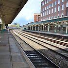 Newport Train Station by Paula J James