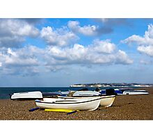 Seaford Boats Photographic Print
