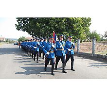 Serbian Elite Guard Photographic Print