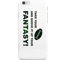 Shove It Fantasy Football Humor iPhone Case/Skin
