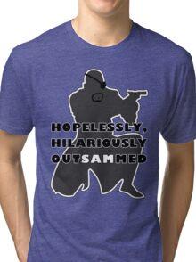 Hopelessly, Hilariously OutSAMmed Tri-blend T-Shirt