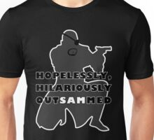 Hopelessly, Hilariously OutSAMmed Unisex T-Shirt