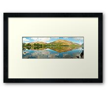 Buttermere (Panorama)  Framed Print