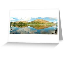 Buttermere (Panorama)  Greeting Card