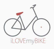 I love my bike  One Piece - Long Sleeve