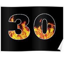 30 (Fire) Poster