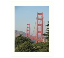 The Golden Gate Bridge, San Francisco, California Art Print