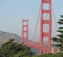 The Golden Gate Bridge, San Francisco, California by RNSANE