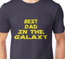 Best Dad in the Galaxy Unisex T-Shirt