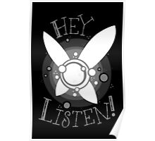 Hey Listen Poster