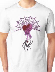 Black Widow (Purple) Unisex T-Shirt
