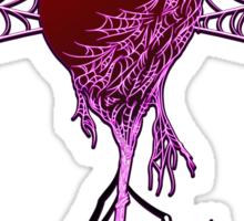 Black Widow (Purple) Sticker