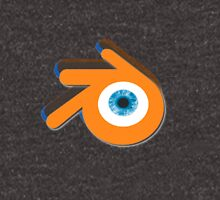 Orange eye with blue eyeball (Blender Logo) T-Shirt