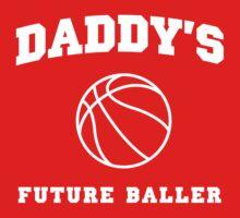 Daddy's Future Baller One Piece - Short Sleeve