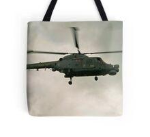 Navy Lynx  Tote Bag