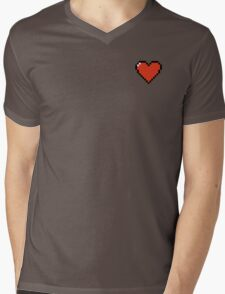 Undertale Soul Red Mens V-Neck T-Shirt