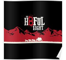 The Hateful Eight 2015 guns logo 5 Poster