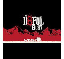 The Hateful Eight 2015 guns logo 5 Photographic Print