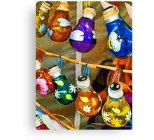 Bulbs and Bamboo  Canvas Print