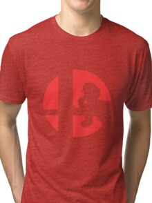 Mario - Super Smash Bros. Tri-blend T-Shirt