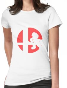 Mario - Super Smash Bros. Womens Fitted T-Shirt