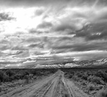 Desert Road by ChrisGPrints