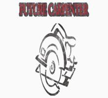 Carpenters Logo Red Vintage Kids Tee