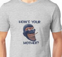 Team Fortress 2 - Spy - How's Your Mother? Unisex T-Shirt