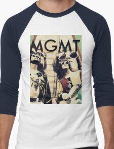 MGMT #4 Men's Baseball ¾ T-Shirt