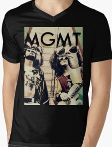 MGMT #4 Mens V-Neck T-Shirt