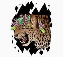 Flower Crown Leopard Unisex T-Shirt