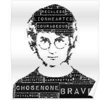 HP word art Poster