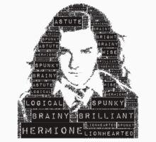 Hermione Word Art by Smurflewis
