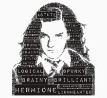 Hermione Word Art Kids Clothes