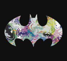 Batman Word Art by Smurflewis