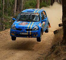 Airtime For Guy Tyler - FIA Australian Rally Championship 13.09.2013 by Noel Elliot