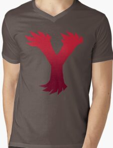 Y Mens V-Neck T-Shirt
