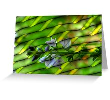 Digital Abstract in Redfield Greeting Card