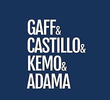 Gaff & Castillo & Kemo & Adama (blue) by olmosperfect