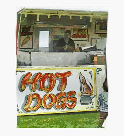 A Hot Dog or Hot Chips?  Poster