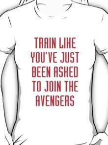 Train like - Avengers (red) T-Shirt