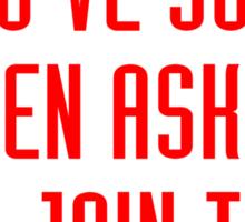 Train like - Avengers (red) Sticker
