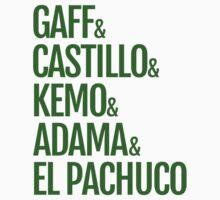 Gaff & Castillo & Kemo & Adama & El Pachuco - Green by olmosperfect