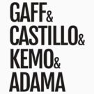 Gaff & Castillo & Kemo & Adama - Light by olmosperfect