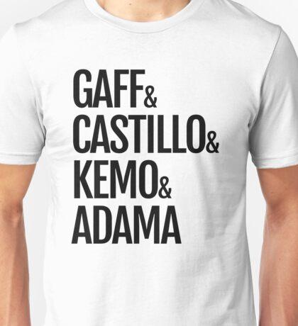 Gaff & Castillo & Kemo & Adama - Light Unisex T-Shirt
