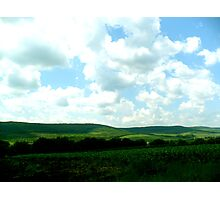 Rolling Hills of Beauty Photographic Print