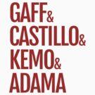 Gaff & Castillo & Kemo & Adama - Red by olmosperfect