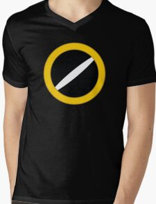 BassShirt.EXE Mens V-Neck T-Shirt