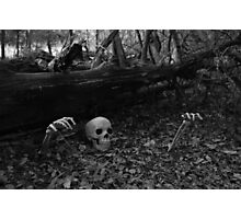 A spooky scene Photographic Print